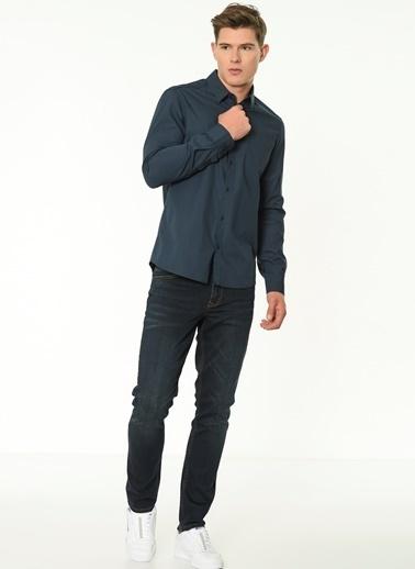 Lee Cooper Uzun Kollu Gömlek Antrasit